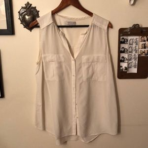 Nordstrom's Collection Silk button up
